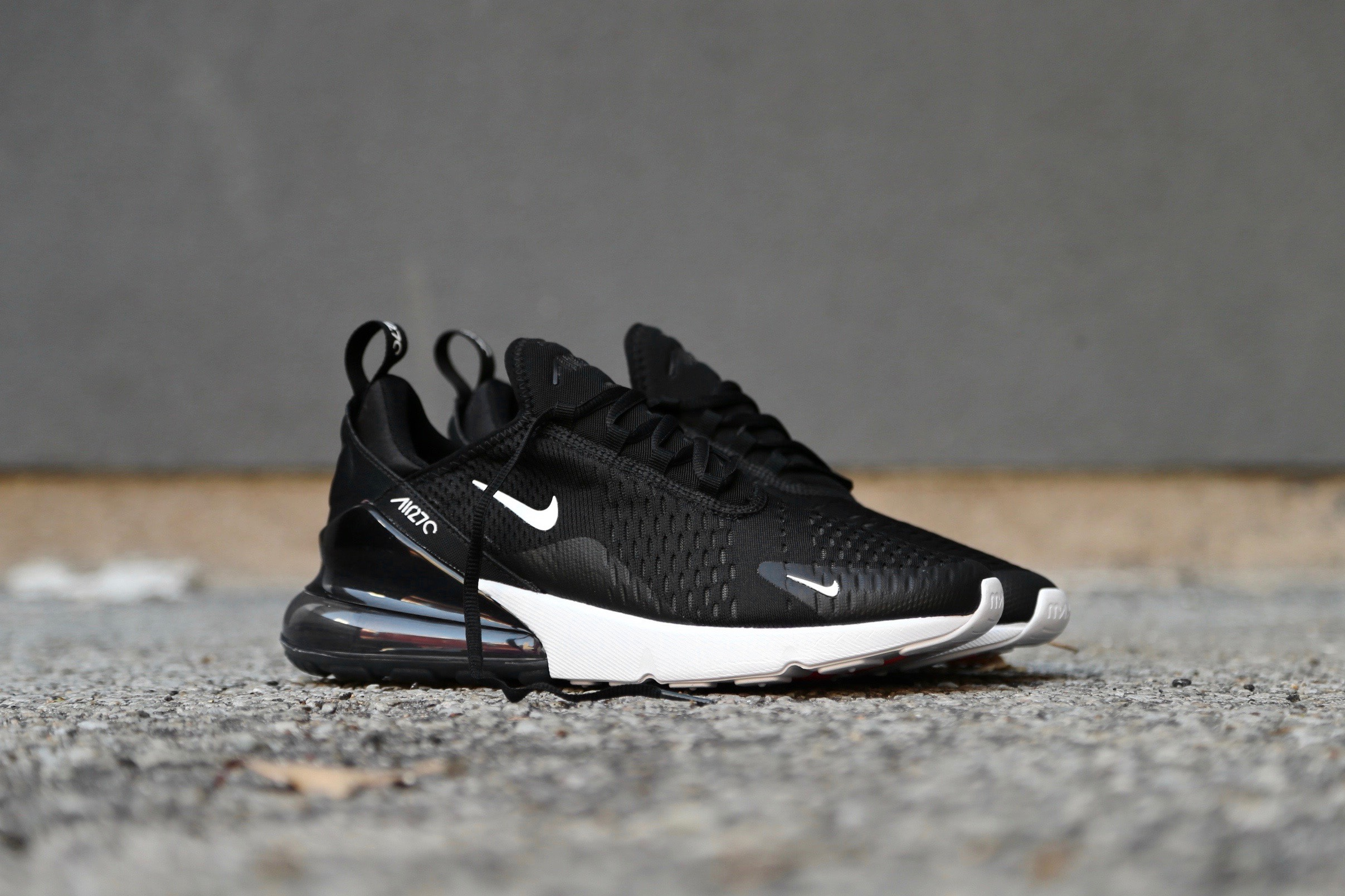 8e9a14f9d3 Nike Air Max 270 – Black / White / Solar Red / Anthracite – STASP