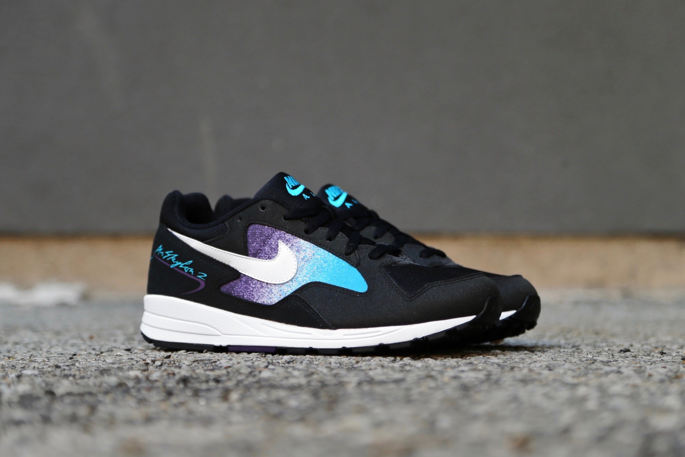 Nike Air Skylon II Black Blue Lagoon Grand Purple White
