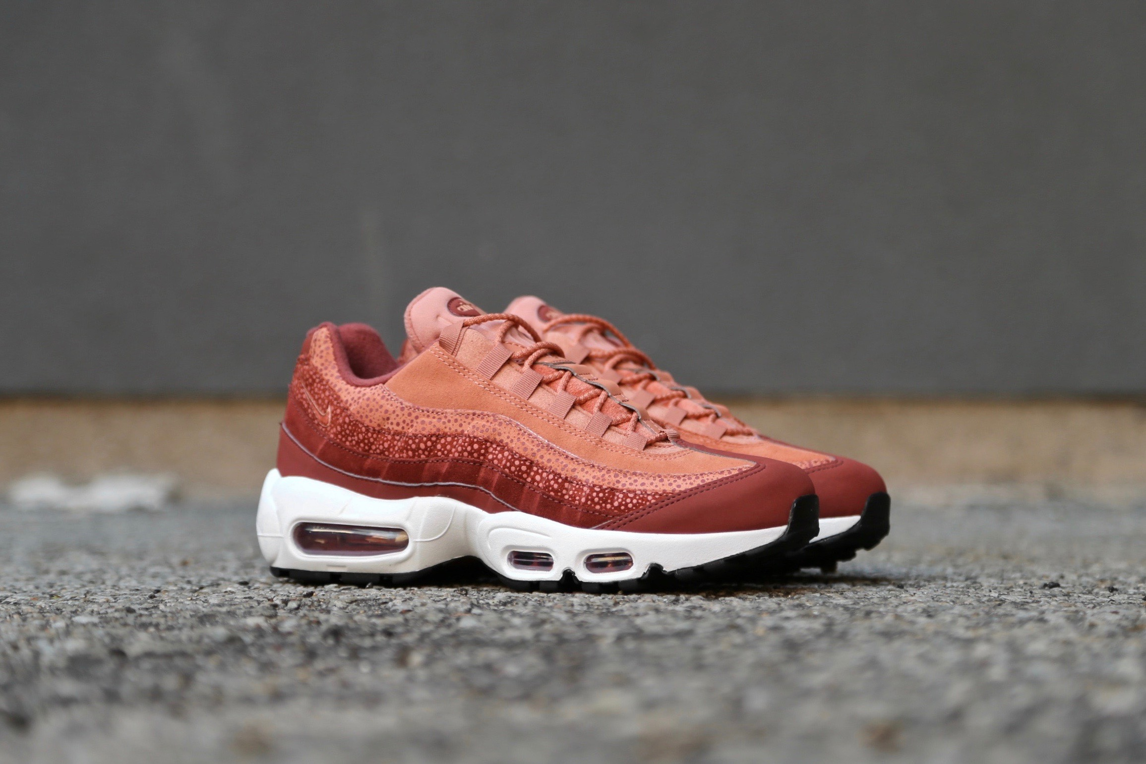 Nike W Air Max 95 PRM Burnt Orange White