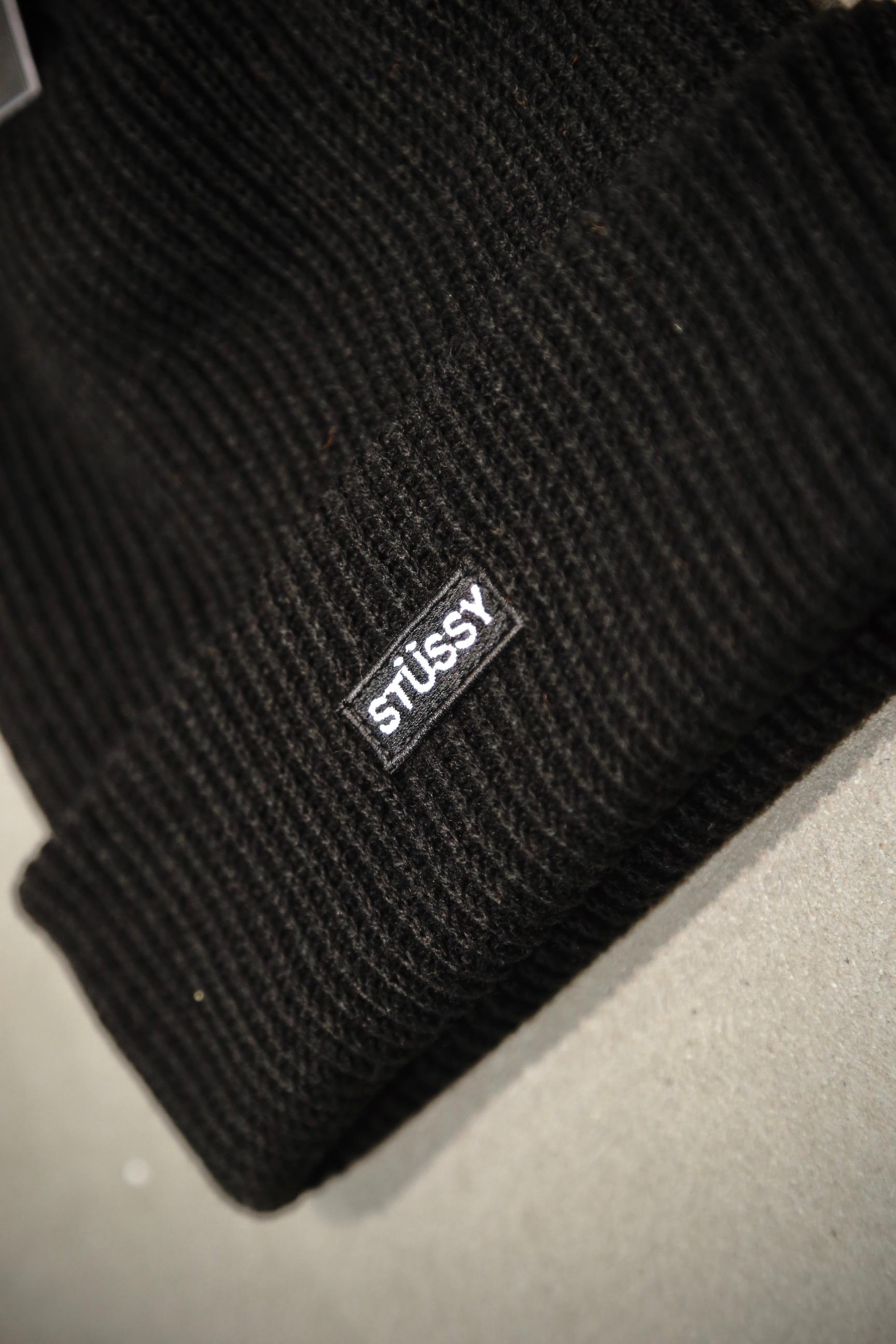 02233efbc75 Stüssy Small Patch Watch Cap Beanie – Black – STASP