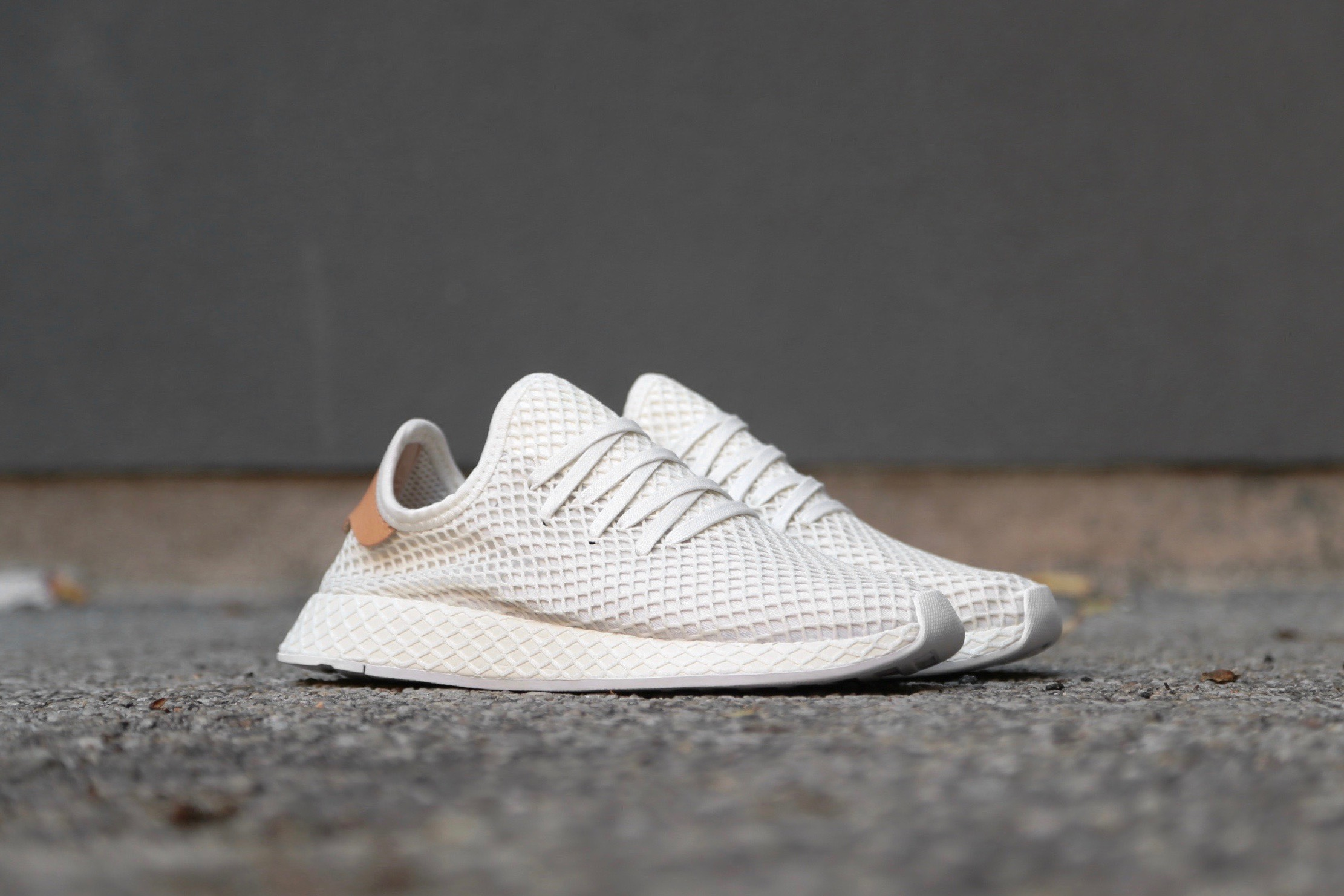 adidas Originals Deerupt Runner Cloud White Ash Pearl Ftwr White