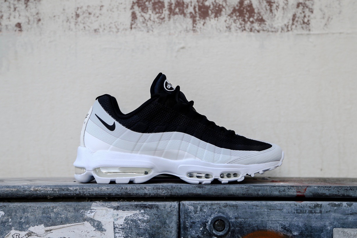 Nike Air Max 95 Ultra Essential Black White Pure Platinum