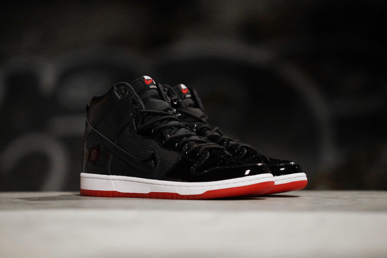 "new styles 8e291 949bb Nike SB Zoom Dunk High TR QS ""Rivals"" Pack – Black / White ..."