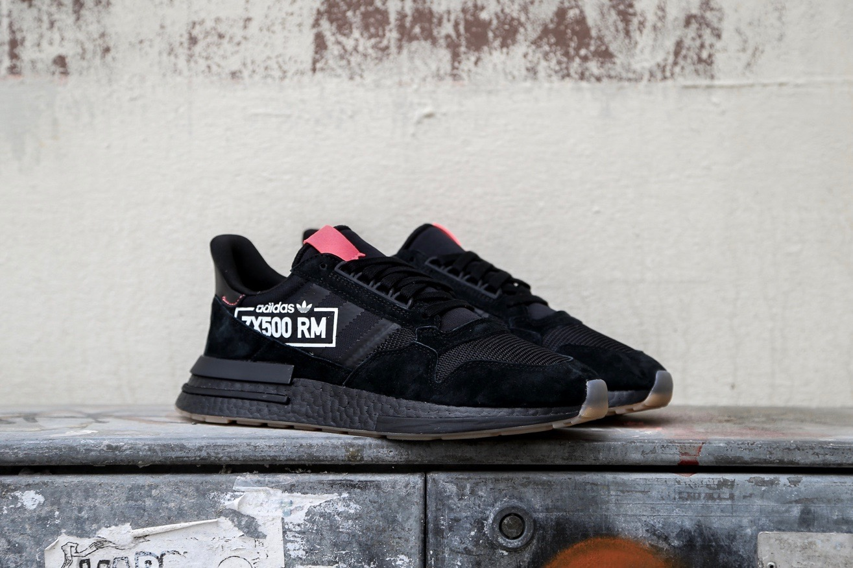 "separation shoes 65f7f 8262d adidas Originals ZX 500 RM ""Alphatype"" – Core Black  Blue Bi"