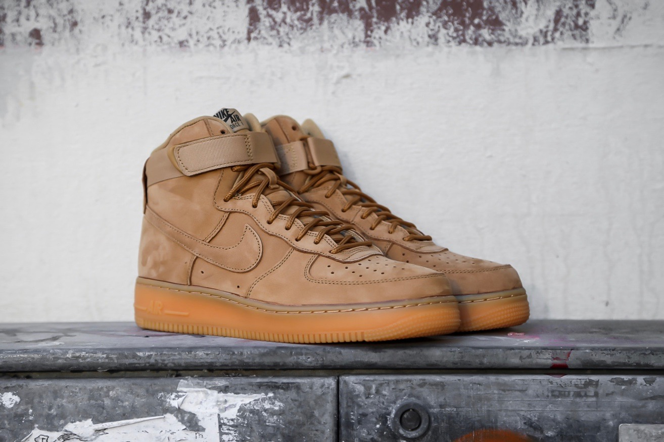 Nike AF1 High  07 LV8 WB – Flax   Outdoor Green   Gum Light Brown ... eec16e141