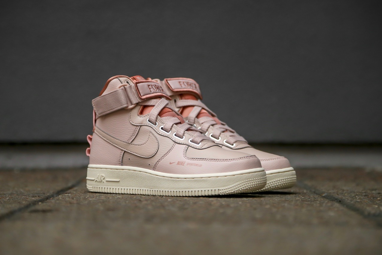 Nike W Air Force 1 High Utility Particle Beige Light Cream