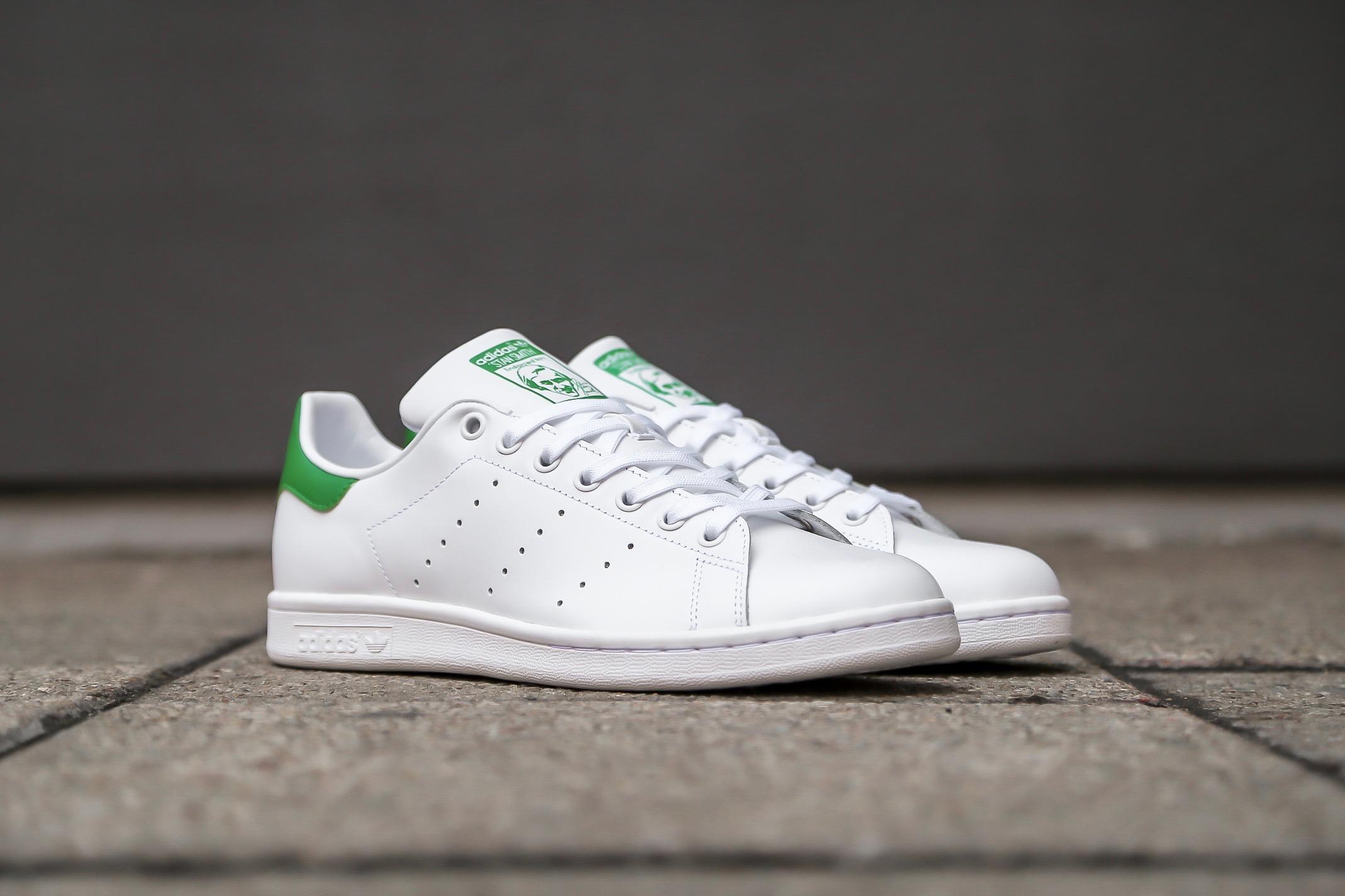 7a974e944 adidas Originals Stan Smith – Ftwr White / Core White / Green – STASP