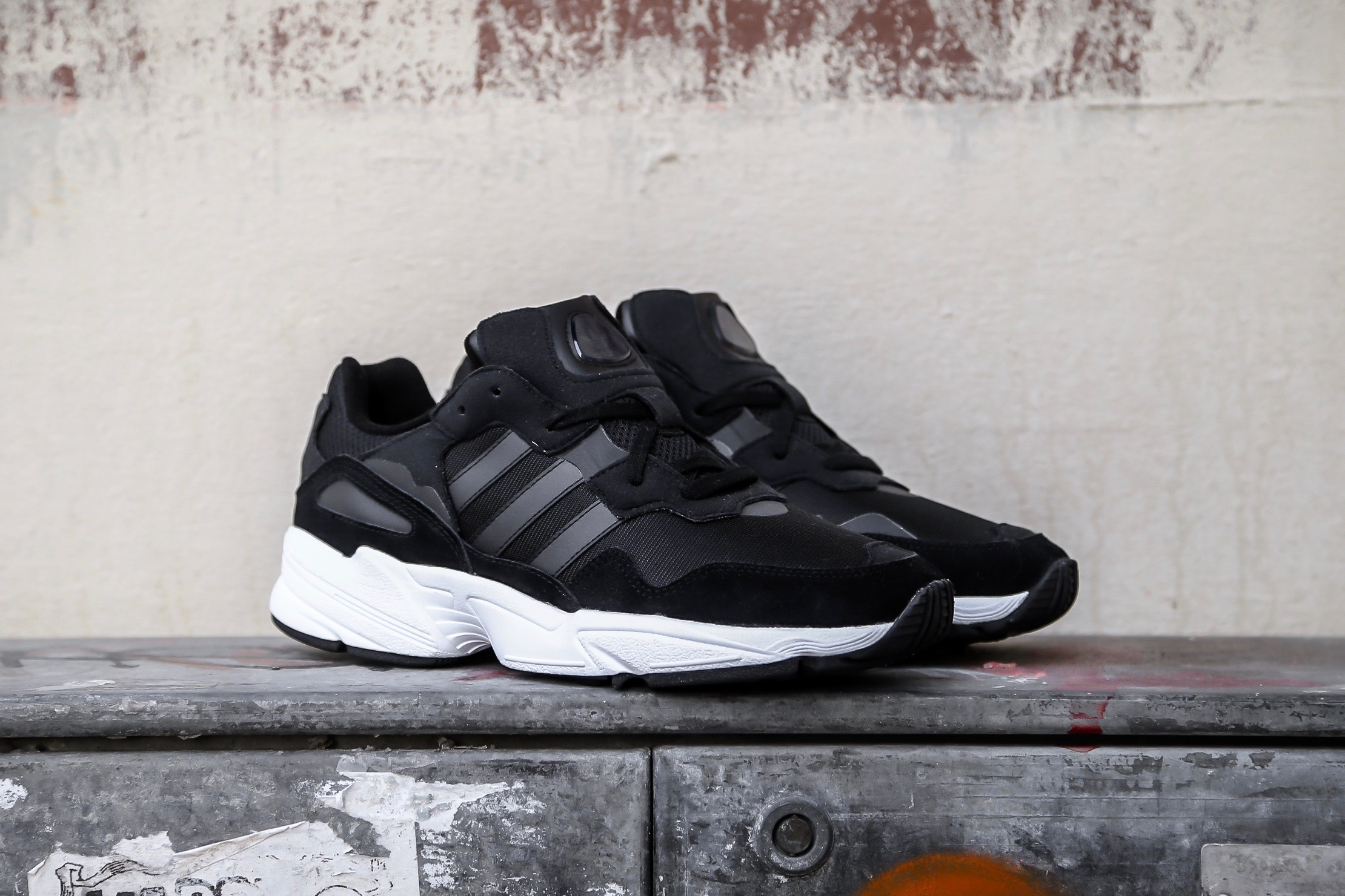 newest 8765e 94434 adidas Originals Yung-96 – Core Black   Crystal White – STASP