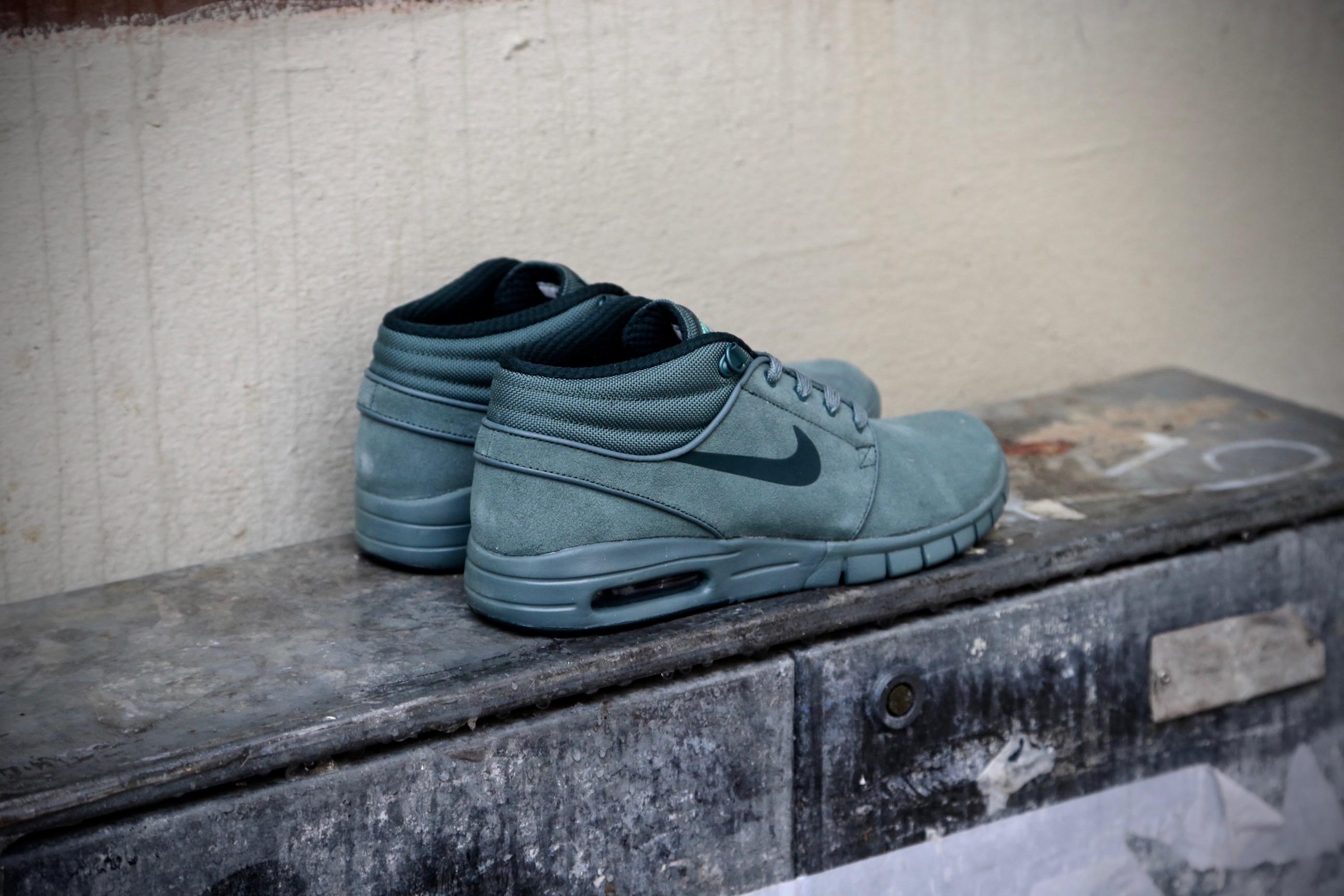 450a9f5a319 Nike SB Stefan Janoski Max Mid L – Hasta   Seaweed Green – STASP