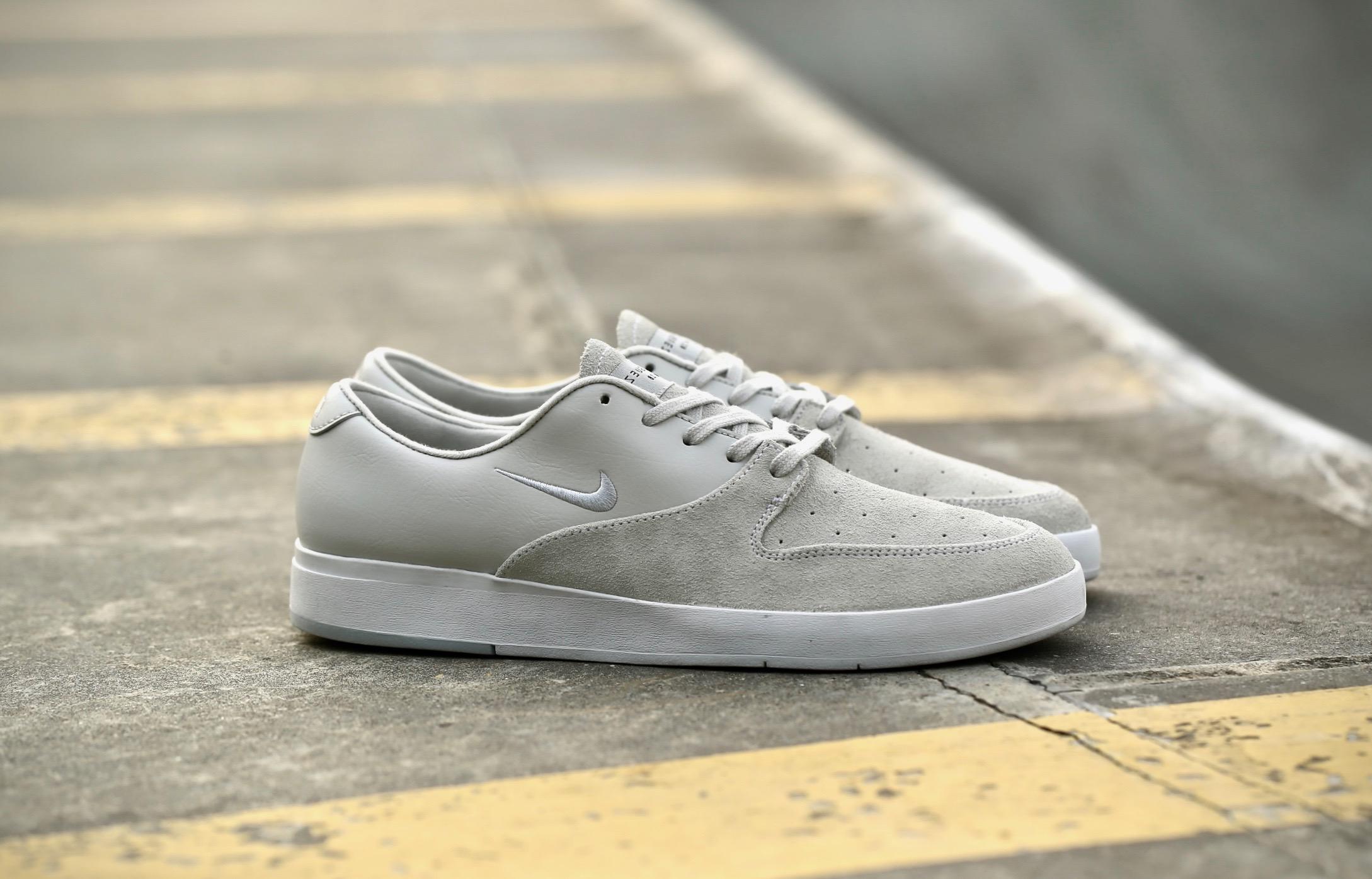 8437e4e740cb Nike SB Zoom P-Rod X – White   Pure Platinum – STASP