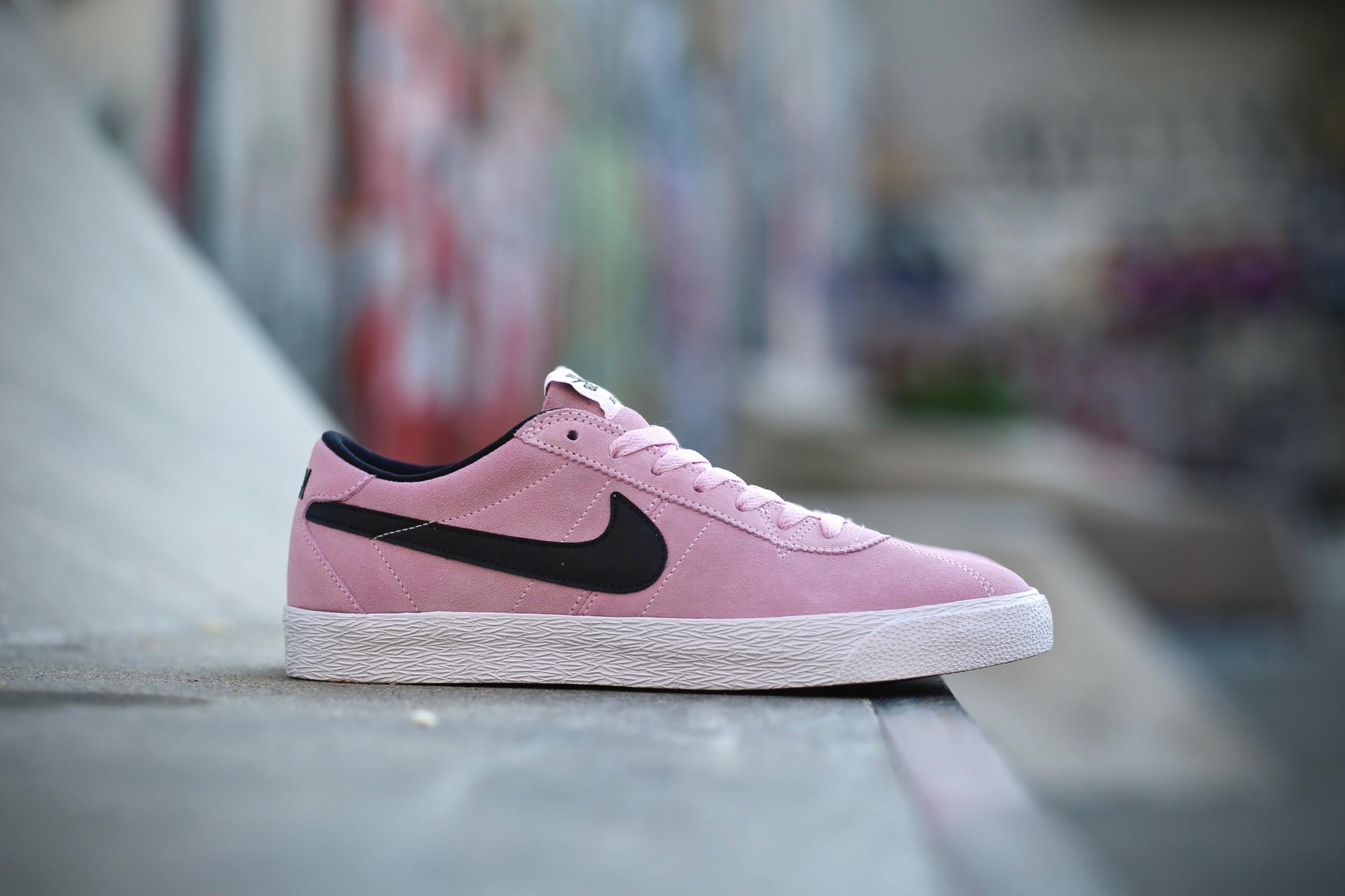 newest 44984 08c6d Nike SB Bruin Zoom PRM SE – Prism Pink   Black   White – STASP