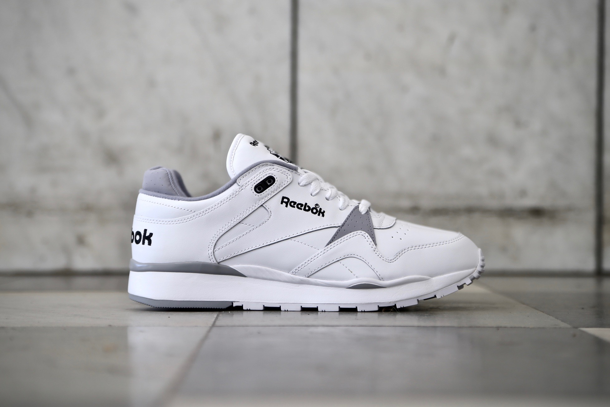 d48d033cfa7 Reebok CL Leather II – White   Black – STASP
