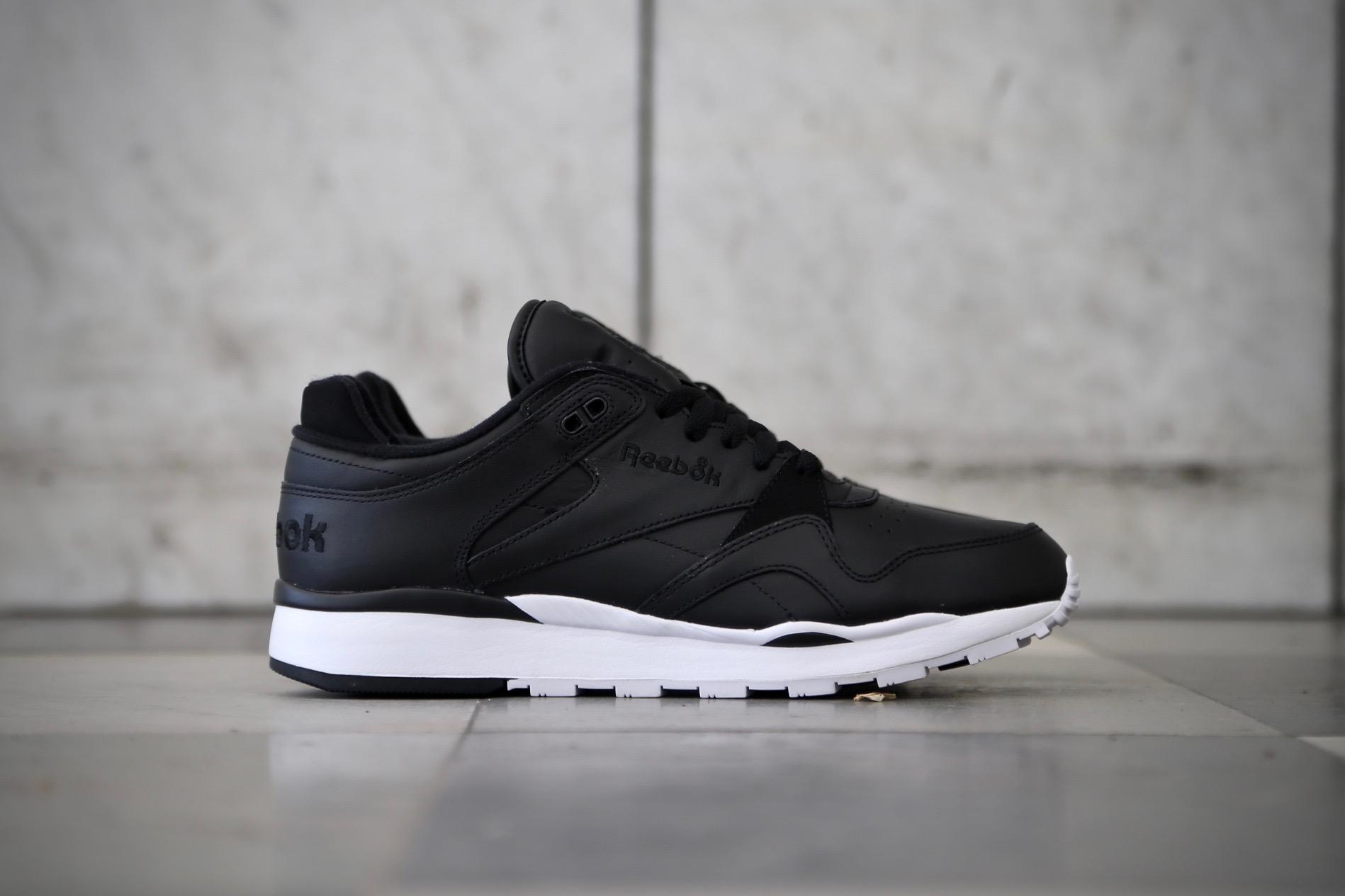 046b8cfb2e8 Reebok CL Leather II – Black   White – STASP