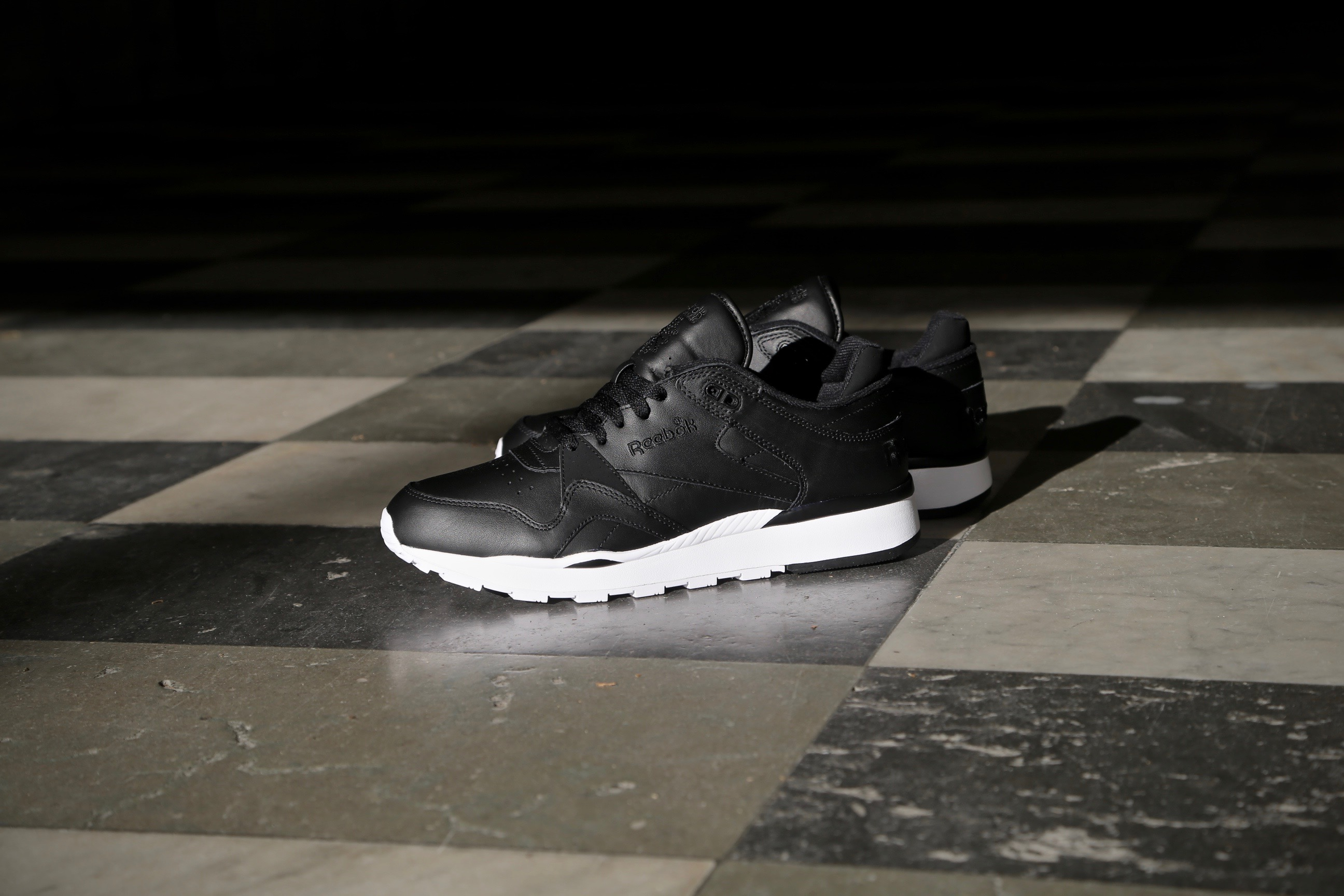 Reebok CL Leather II – Black White – STASP