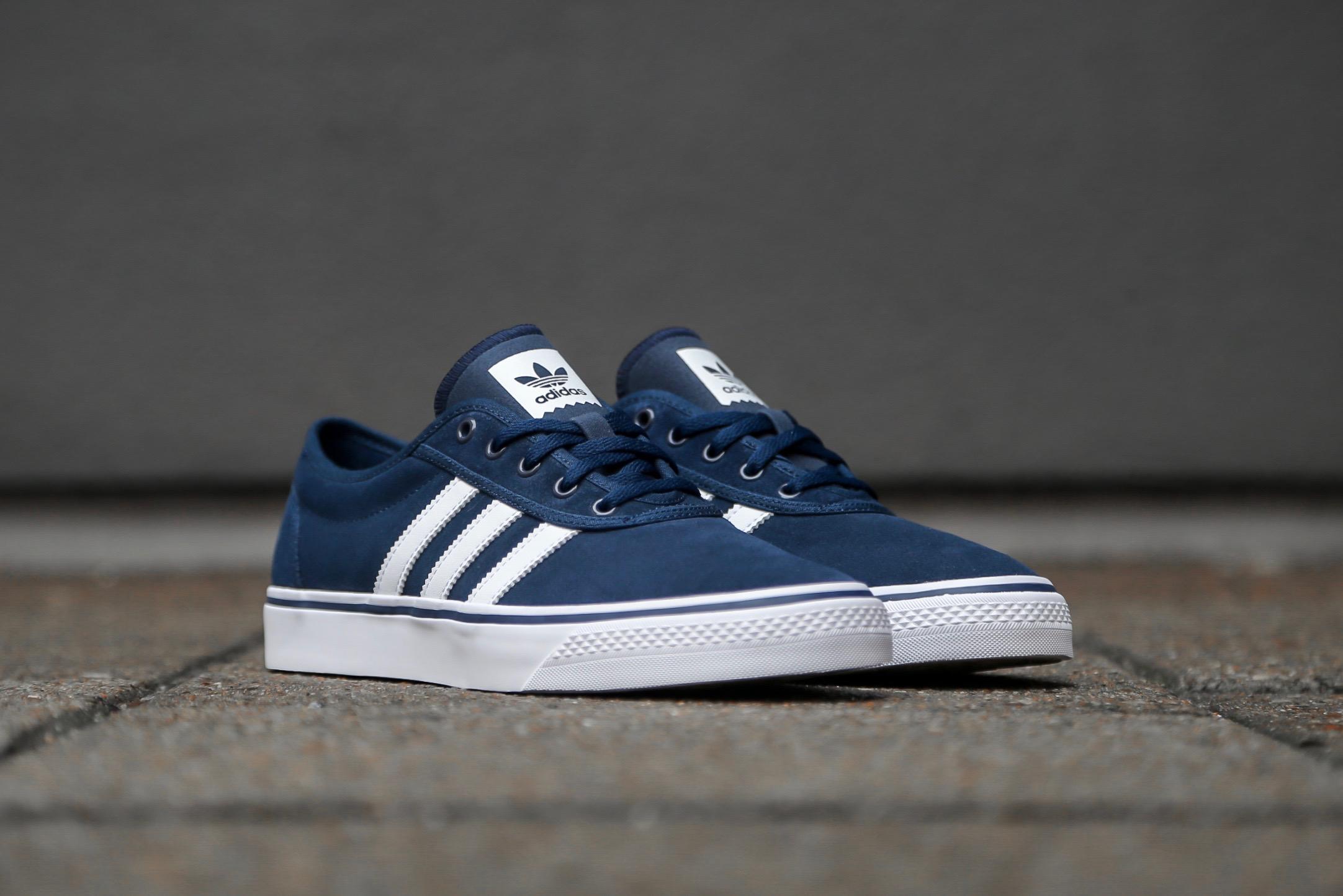 sneakers for cheap 14e3d 64244 adidas Skateboarding Adi-Ease – Collegiate Navy  Ftwr White
