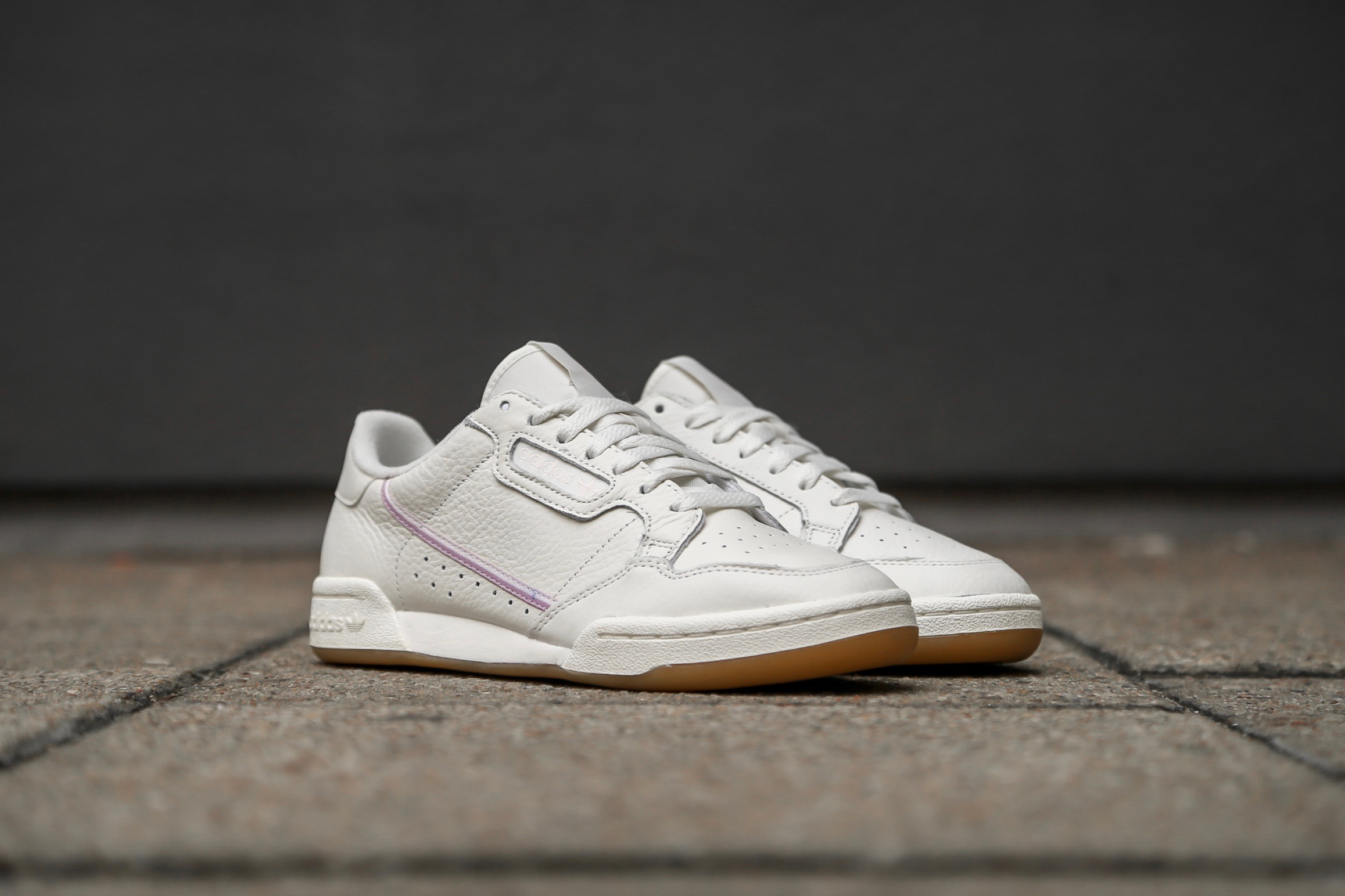 91976e30f92 adidas Originals Continental 80 W – Off White   Orchid Tint   Soft ...