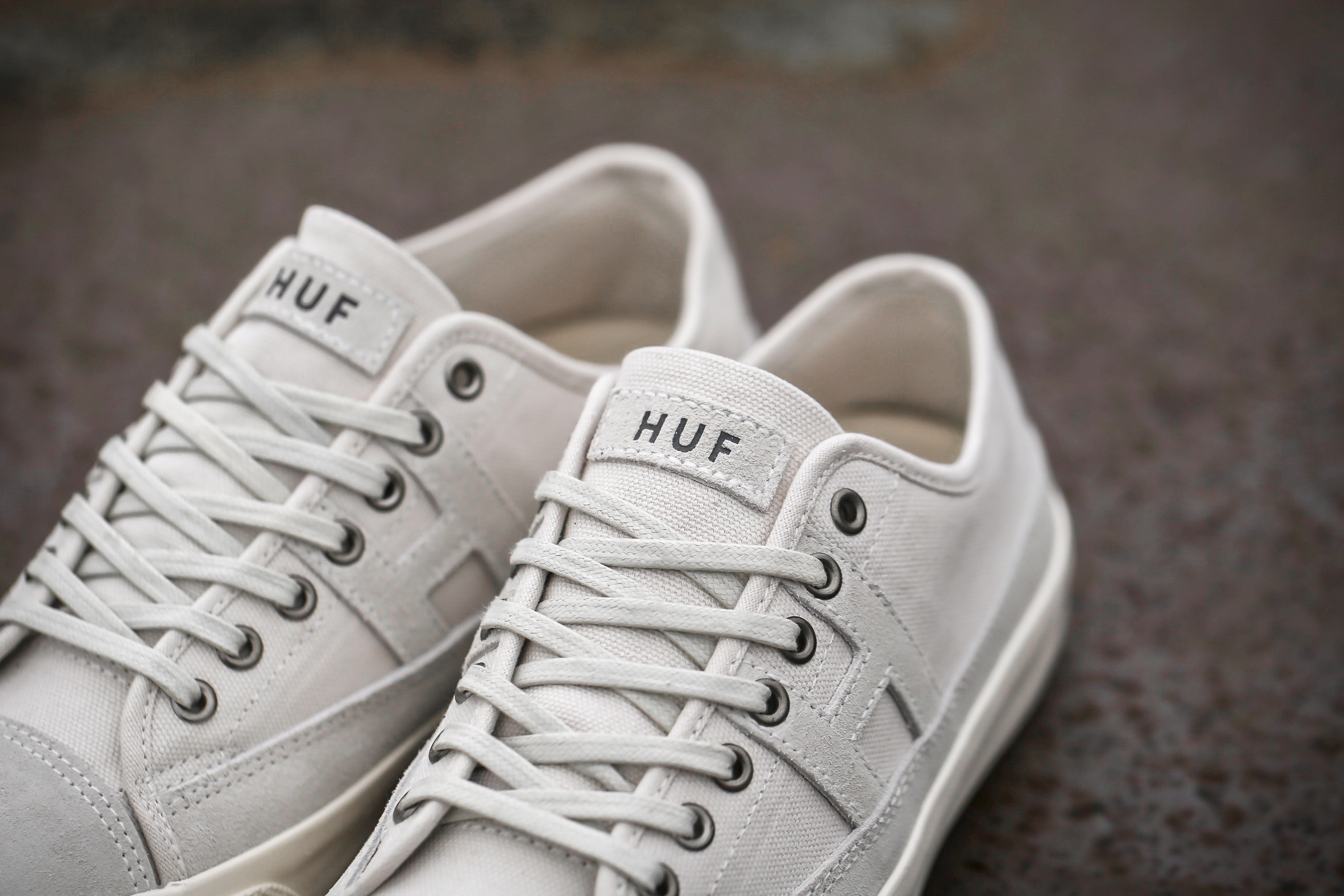 Huf Hupper 2 Low Nartural White Stasp