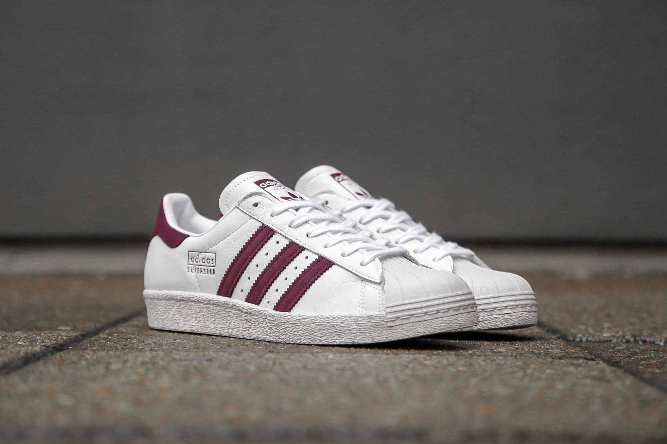 Adidas Superstar 80s W Ftwr WhiteCore BlackCrystal White