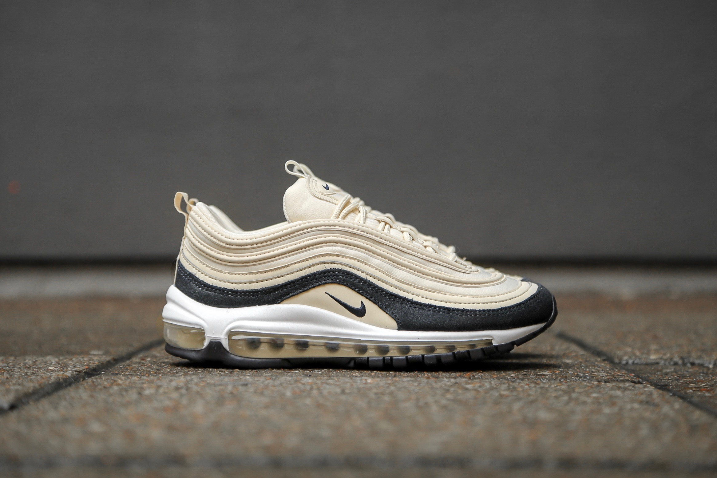 best website b31a0 aab9a Nike W Air Max 97 PRM - Light Cream / Oil Grey