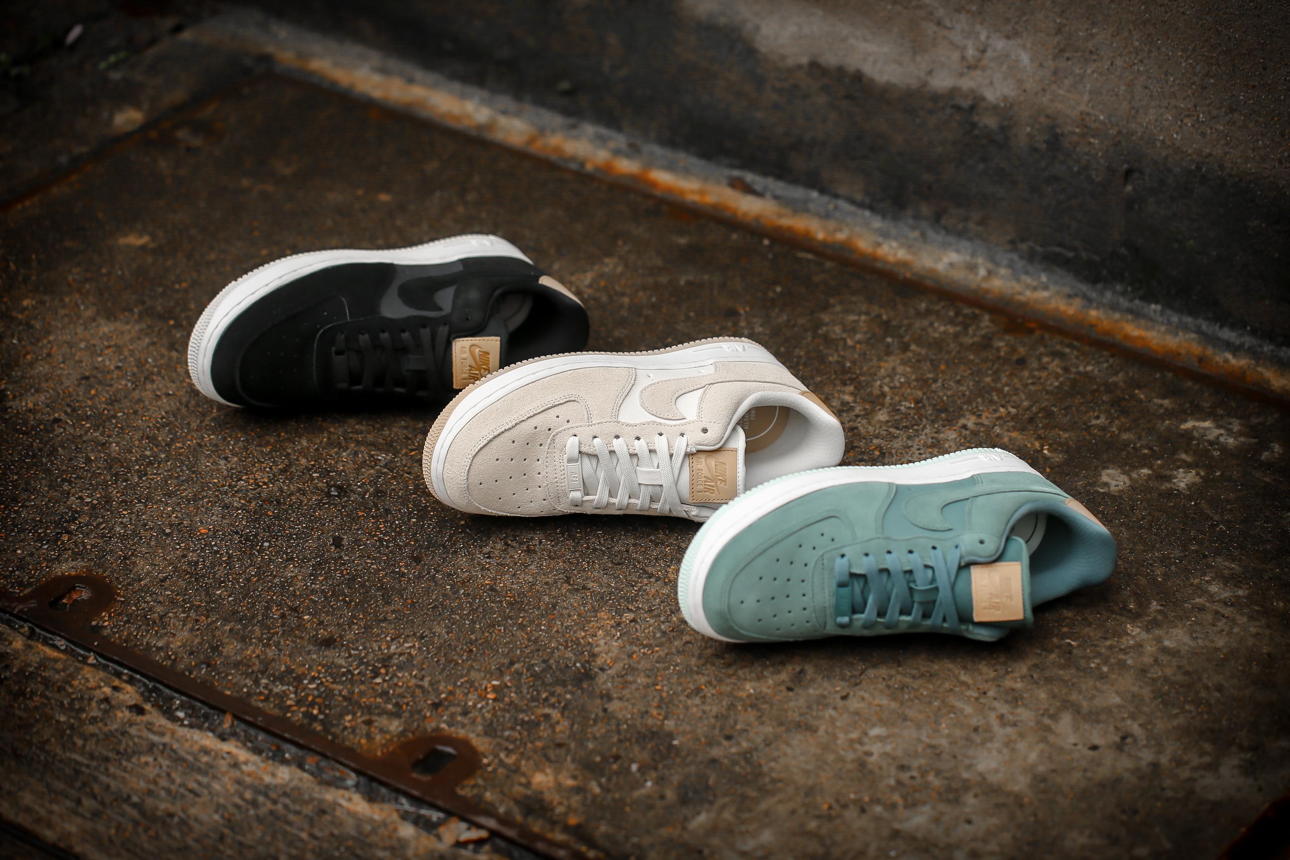 jakość wykonania klasyczne dopasowanie wylot Nike W Air Force 1 '07 PRM - Hasta / Summit White / Vachetta Tan