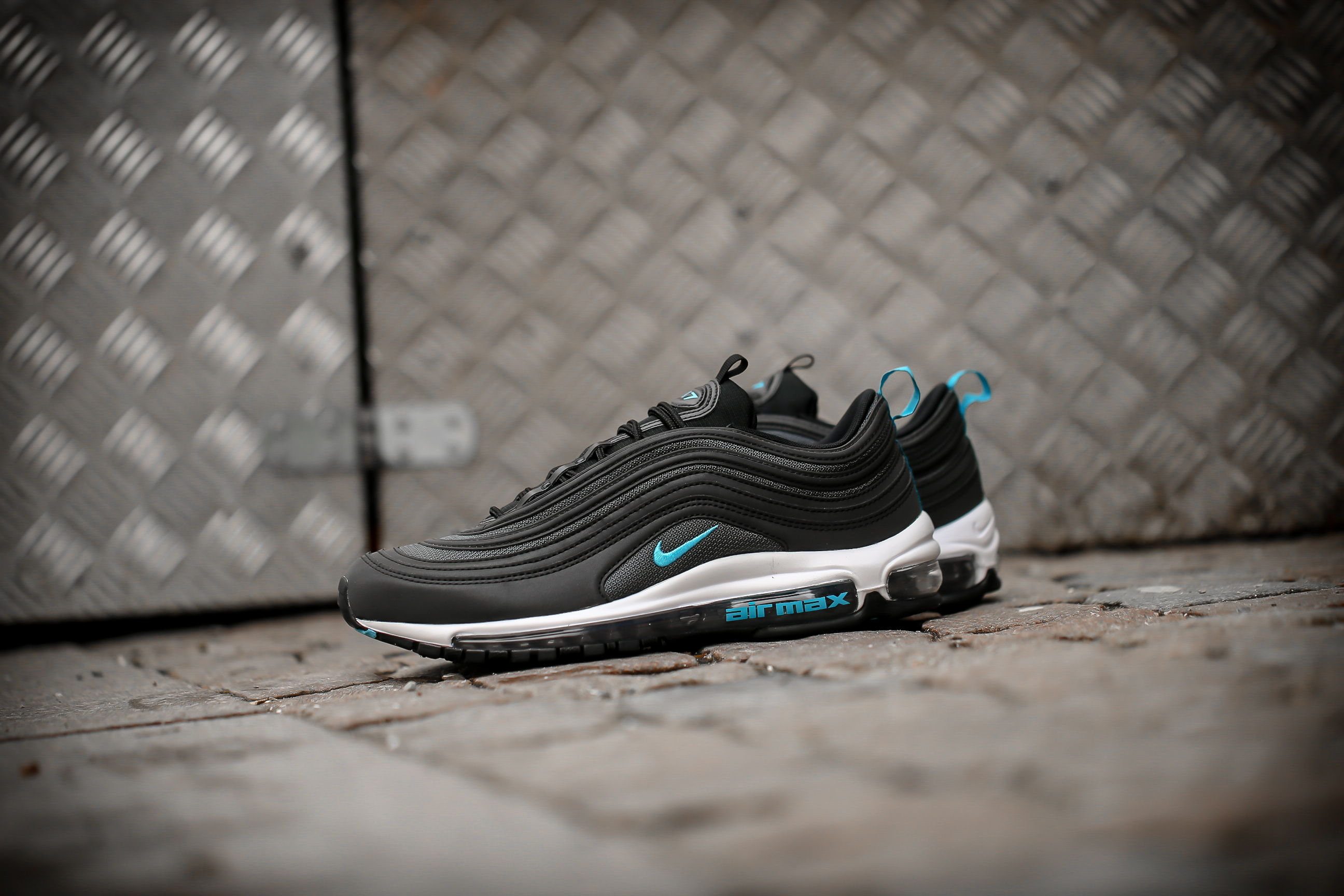 air max 97 black and grey