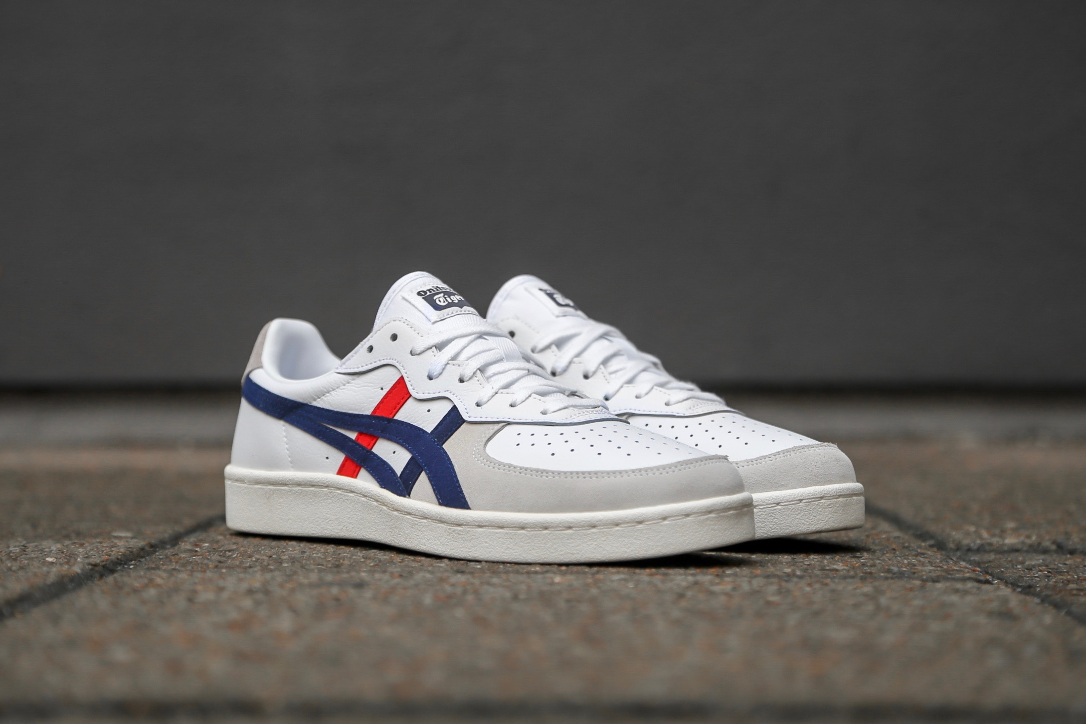 sports shoes 67f10 b04f8 Onitsuka Tiger GSM - White / Peacoat