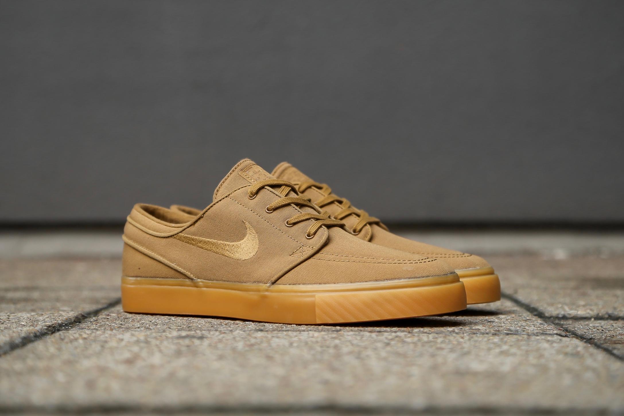 munición Entrada no pagado  Nike SB Stefan Janoski CNVS – Golden Beige / Gum Yellow – STASP