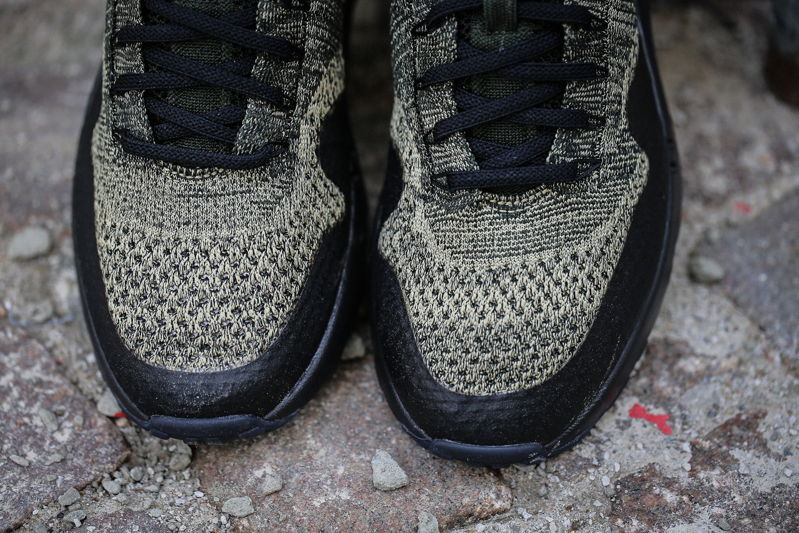 3c6c625766bb4a Nike Air Max 1 Ultra Flyknit – Neutral Olive   Black   Sequoia – STASP