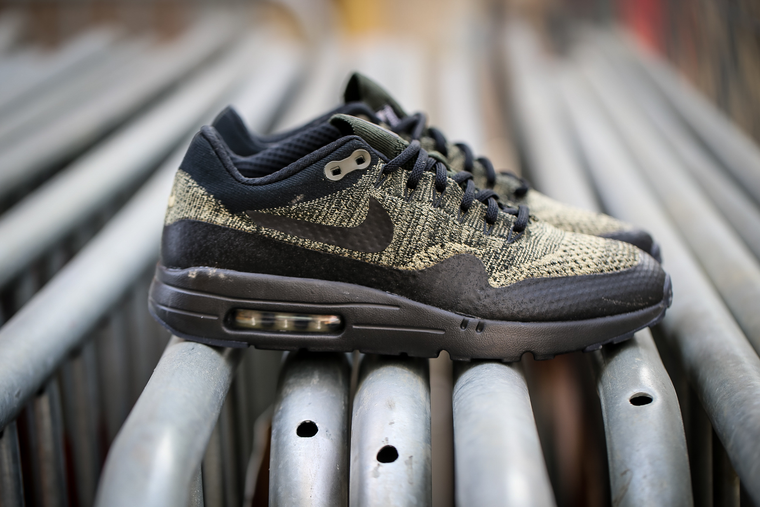 the latest 92800 eb062 Nike Air Max 1 Ultra Flyknit - Neutral Olive / Black / Sequoia